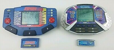 £5.55 • Buy  Tiger LOT (2) JEOPARDY & WHO WANTS TO BE A MILLIONAIRE Electronic Handheld Game