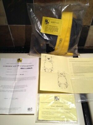 P+P Brittania Basic Single Point Fall Arrest Harness Sealed Bag Scaffold Safety  • 44£