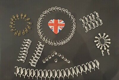 £2.83 • Buy Curtain Track Gliders Glide Hooks Runners Pole Slides - Rail Tracking Parts