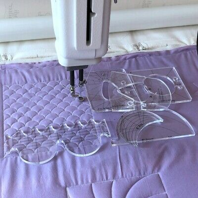 $55.56 • Buy 5.6mm Quilting Template For Hq Long Arm Quilting Machine And High Shank Sewing