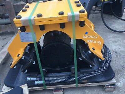 £2800 • Buy Excavator Hydraulic Vibrating Compactor Plate Roller Waker Plate