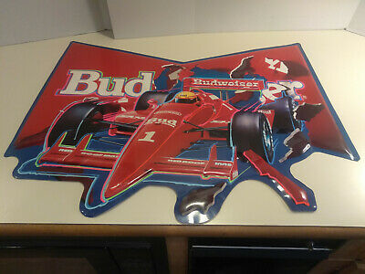 $ CDN101.29 • Buy Budweiser 1990 Formula 1 Indy Car Racing Metal Tin Sign