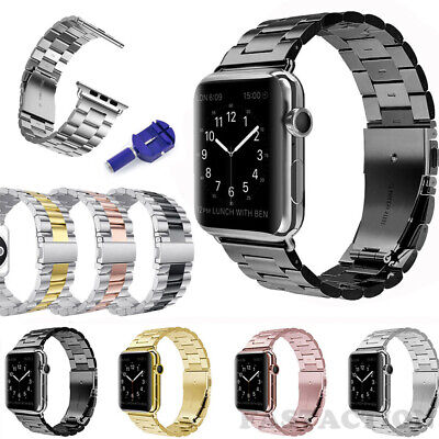 $ CDN10 • Buy For Apple Watch Series 5/4/3/2 IWatch Strap Stainless Steel Watch Band 40/44mm