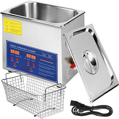 AU199.95 • Buy 6L Ultrasonic Cleaner Cleaning Industry Stainless Steel Digital Timer Heater AU