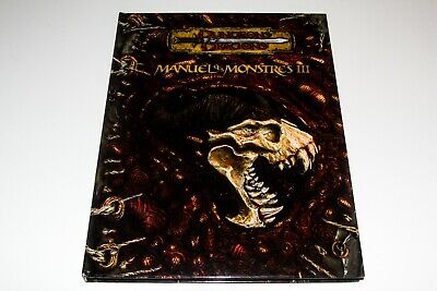 AU217.93 • Buy Dungeons & Dragons - Manuel Des Monstres Iii - Edition 3.5