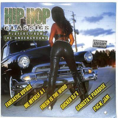 Various - Hip Hop Classics: Players From The Underground - Double LP Vinyl • 14.99£