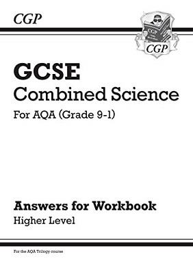 £2.96 • Buy Grade 9-1 GCSE Combined Science: AQA Answers For Workbook - Higher CGP GCSE 9-1