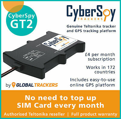 CyberSpy GT2 Car Van Taxi GPS Tracker, Full Vehicle Device Fleet Tracking System • 84.99£