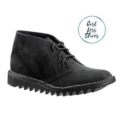 AU139.50 • Buy 4046 Rossi Boots Ripple Sole Desert Boot Black Suede