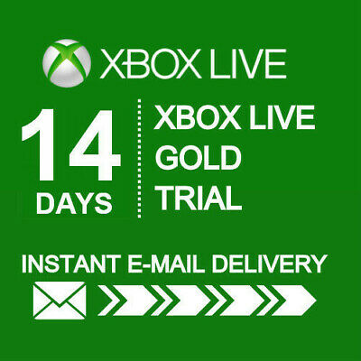 $ CDN10.50 • Buy Xbox Live 14 Day Gold Trial Membership Code (2 Weeks) - Xbox One Only - Instant