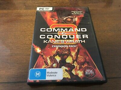 AU15 • Buy Command & Conquer Kane's Wrath Expansion Pack PC GAME - Complete