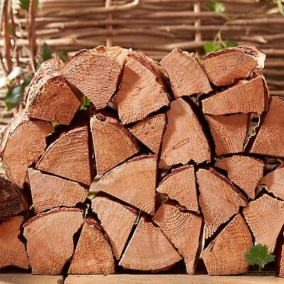 £15.95 • Buy Softwood Logs Kiln Dried CHUNKY Firewood - 60 Litres For Open Fire Wood Burners