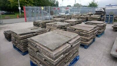£95 • Buy Yorkstone Courtyard/patio/Driveway/garden Slabs Flags Quality Thestonedealer!!!