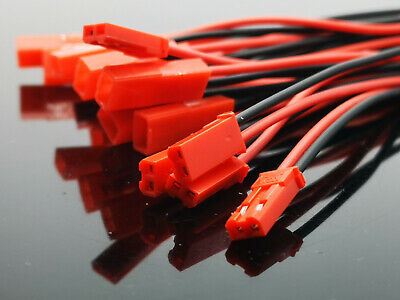 AU7.39 • Buy 10Pair JST 2Pin Connector Male/Female Plug Cable 15cm Wire For Battery LED Light