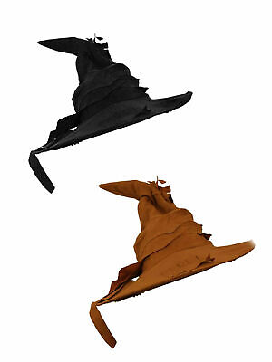 Kids Girls Black Witch Hat Book Week School FancyDress Witches Hats Accessory
