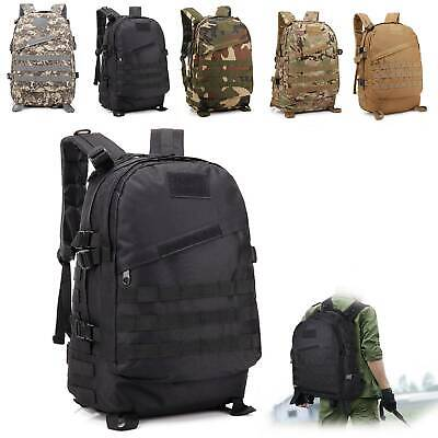 AU11.99 • Buy 35L Hiking Camping Bag Army Military Tactical Trekking Rucksacks Backpacks Camo