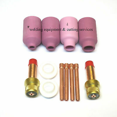 £14 • Buy Gas Lens Kit For WP26 WP18 And WP17 Tig Welding Torches