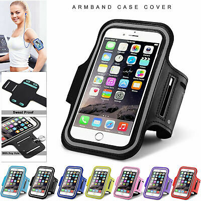 Apple IPhone Gym Running Yoga Jogging Armband Case Key Holder For Samsung Phones • 6.95£