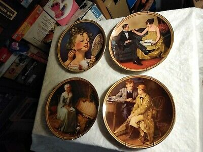 $ CDN60.15 • Buy Norman Rockwell 1st Edition  Rediscovered Women  Plate Series, Set Of 12