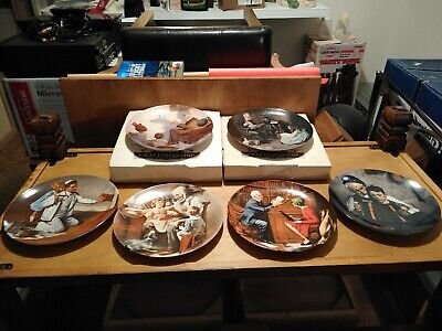 $ CDN33.89 • Buy Norman Rockwell Collector Plates, Set Of 6 In Excellent Cond.