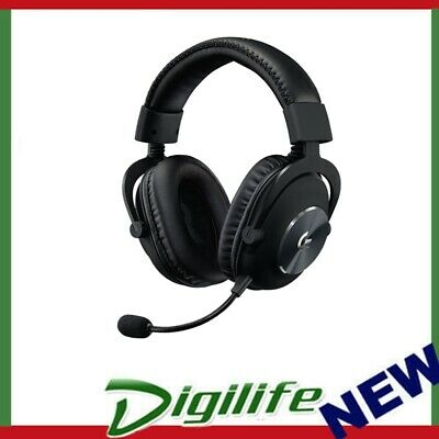 AU223.90 • Buy  Logitech G PRO X Blue VO!CE Black Over-Ear Gaming Headphone Headset USB Wired