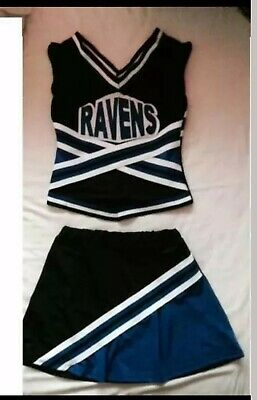 Womens Cheerleader Costume/outfit Size 8-10 One Tree Hill Style  • 23.99£
