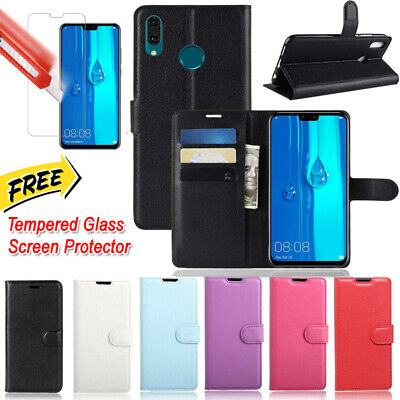 AU8.99 • Buy For JB HUAWEI Y9 Prime 2019 New Premium PU Leather Wallet FLIP Case TPU Cover
