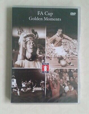 £6.80 • Buy Fa Cup Golden Moments DVD 2003 NEW AND SEALED   K5