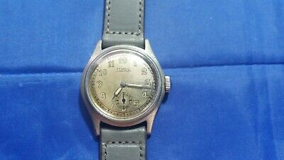 $ CDN154.41 • Buy Vintage Etanche Ancre 15 Rubis Men's Watch Military Style Made In France
