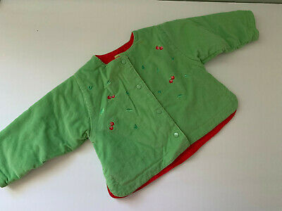 Marese Infant Girls Corduroy Jacket   Size 6 Months • 3.64£