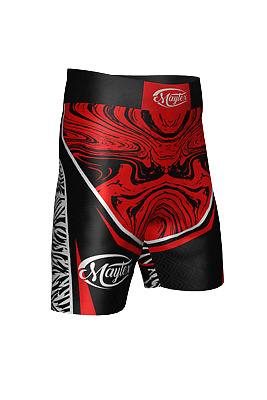 AU49.99 • Buy MMA Fight Shorts UFC Cage Fight Grappling Muay Thai Boxing Maytex