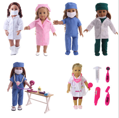 £7.99 • Buy Handmade Accessories Doctor Nurse Clothes 18  Inch American Girl Doll Clothes