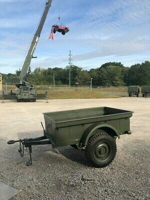 $3900 • Buy Reproduction MB Trailer MBT 1/4 Ton M100 Fits Willys Jeep MD Juan