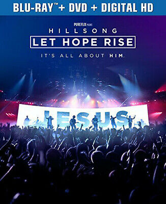 $9.99 • Buy HILLSONG LET HOPE RISE New Sealed Blu-ray + DVD