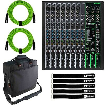 $393.40 • Buy Mackie ProFX12v3 12 Channel Pro Analog Live/Recording Mixer Effects & USB, Case