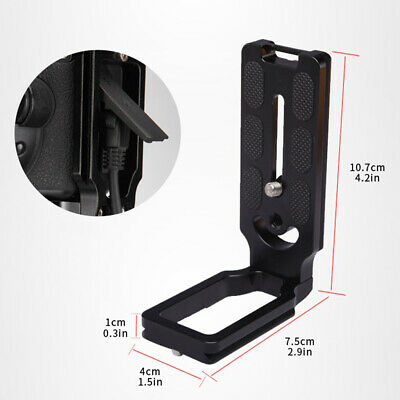 AU19.08 • Buy Plate Quick Release L-Bracket Camera Grip Adapter Plate FOR SONY A7II Black