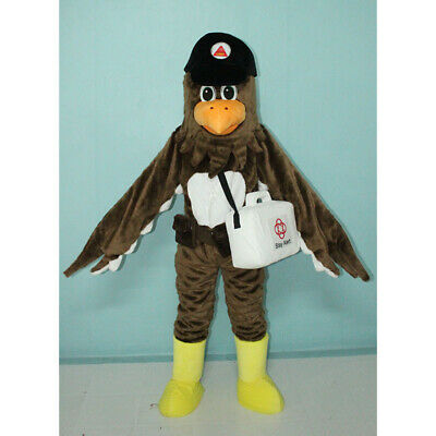 Big Bird Eagle Mascot Costume Suit Christmas Cosplay Party Game Dress Outfits US • 407.59£