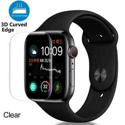 $ CDN3.20 • Buy For IWatch Apple Watch Series 5 40mm 44mm Full Tempered Glass Screen Protector