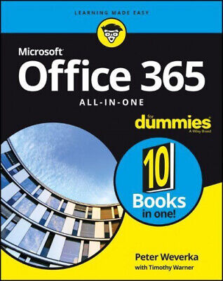 AU62.14 • Buy Office 365 All-in-One For Dummies By Peter Weverka.