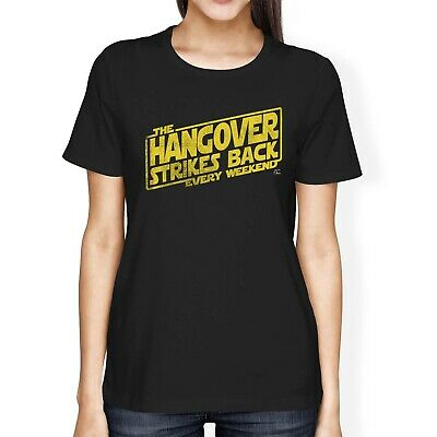 1Tee Womens Loose Fit The Hangover Strikes Back Every Weekend T-Shirt • 7.49£