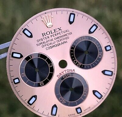 $ CDN1968.66 • Buy Rolex Cosmograph Daytona 116505 116515 18k Rose Gold Chromalight Dial Original