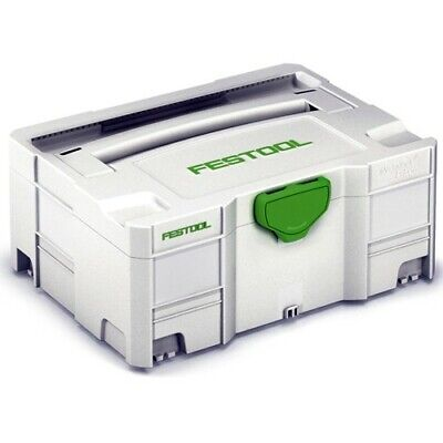 Festool 497564 SYS 2 TL Systainer T-LOC Empty Carry Case Tool Box • 55£