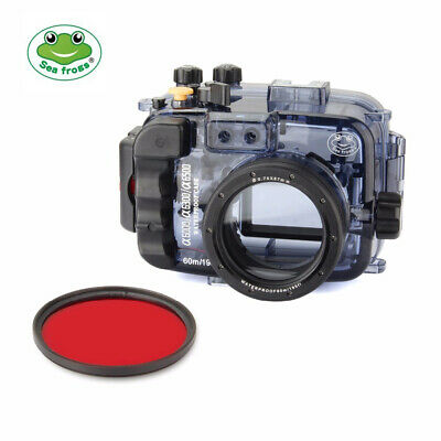 $ CDN280.47 • Buy Seafrogs 195ft Underwater Camera Housing For Sony A6000 A6300 A6500 W/Red Filter