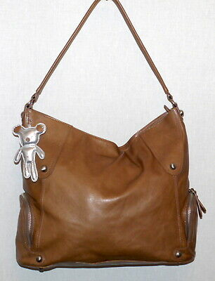 Il TUTTO After Baby Bag Tan Leather Bag EUC SP £259 • 50£