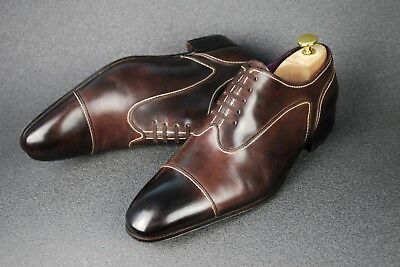 $ CDN761.24 • Buy Artioli Handmade In Italy G1/2 UK8 / Eu 42 / Us9 Shoes Men Loafer Oxford Patina