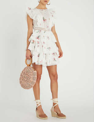 NWT ZIMMERMANN HEATHERS PINTUCK FRILL DRESS Sizes 012 • 254.96$