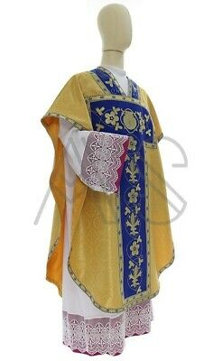 £192.24 • Buy Chasuble St. Philip Neri With Matching Stole, Maniple, Chalice Veil And Burse