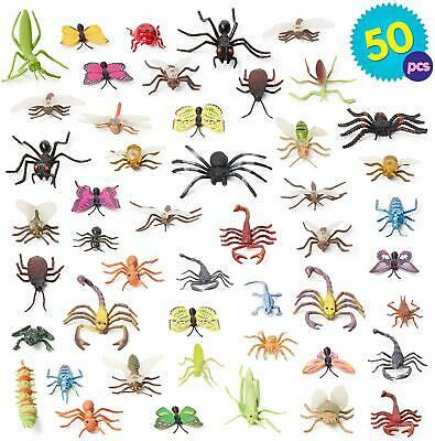 £11.99 • Buy Plastic Mini Insect Bugs Action Kids Toys Jungle Decor Loot Party Bag Filler