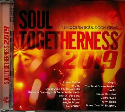VARIOUS - Soul Togetherness 2019 - CD (unmixed CD) • 13.74£