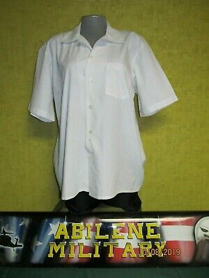 $8.85 • Buy Military Medical Smock Paint Shirt White General Purpose Mens Med Lg Xl Used